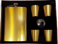 High Life  Set Likérka Gold pohárky + trychtýřek