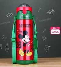 High Life Termoska Disney Mickey Mouse na nápoje s brčkem 500 ml