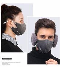 High Life Univerzální filtrační rouška na ústa zimní s naušníkem