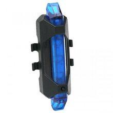 High Life Zadní světlo modré USB 5LED