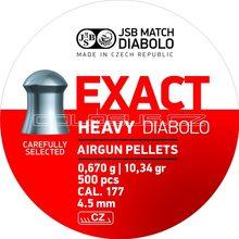 JSB Diabolo JSB Exact Heavy 500ks cal.4,52mm