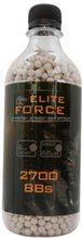Kuličky BB 6mm 0,25g 2700 ks bílé Elite Force