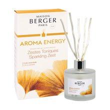Lampe Berger Lampe Berger Skleněný difuzér Maison Berger Paris Čerstvé tonikum, 180 ml, vrbové tyčinky