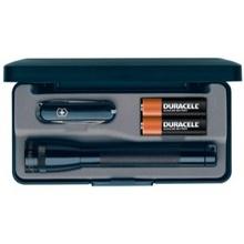 Mag-Lite Svítilna Maglite AA černá + nůž Victorinox
