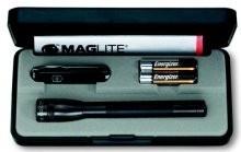 Mag-Lite Svítilna Maglite AAA černá + nůž Victorinox