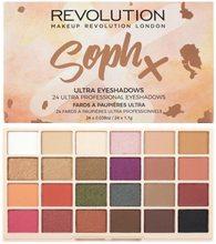 Makeup Revolution London Makeup Revolution London Soph x Ultra Eyeshadows 26,4g
