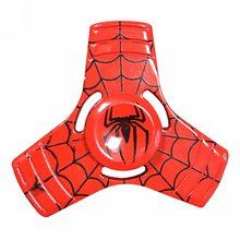 Marvel Kovový UFO Spinner Spider Man červený