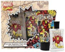 Marvel Marvel Comics Iron Man toaletní voda Pro děti 75 dárková sada