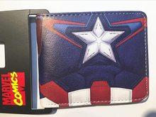 Marvel  Peněženka Captain Amerika Flag zip