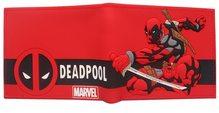 Marvel Peněženka dětská Dead Pool červená