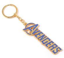 Marvel Přívěsek na klíče Avengers nápis Modrý