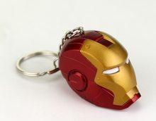 Marvel Přívěsek na klíče Iron Man 3D Maska červená