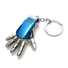 Marvel Přívěsek na klíče Iron Man 3D ruka modrá