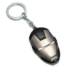 Marvel Přívěsek na klíče Iron Man Maska černá