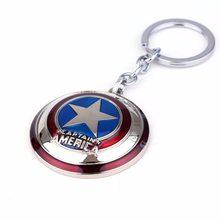Marvel Přívěsek na klíče - štít Kapitan Amerika barevný
