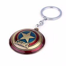 Marvel Přívěšek na klíče - štít Kapitan Amerika Gold