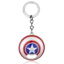 Marvel Přívěsek na klíče - štít Kapitan Amerika otvírák