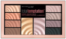 Maybelline Maybelline Total Temptation Shadow + Highlight Palette 12g
