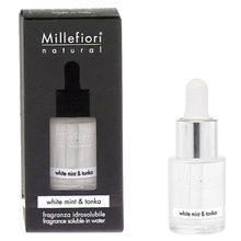 Millefiori Milano Aroma olej Millefiori Milano Natural, 15ml/Bílá máta a tonkové boby