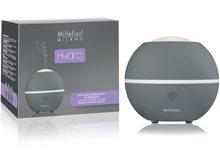 Millefiori Milano Hydro ultrazvukový difuzér skleněný Grey