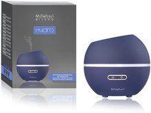 Millefiori Milano Hydro ultrazvukový difuzér skleněný Half Sphere Blue
