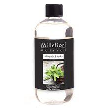 Millefiori Milano Náplň do difuzéru Millefiori Milano Natural, 500ml/Bílá máta a tonkové boby