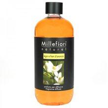 Millefiori Milano Náplň do difuzéru Millefiori Milano Natural, 500ml/Dřevo a pomerančové květy