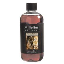 Millefiori Milano Náplň do difuzéru Millefiori Milano Natural, 500ml/Kadidlo a světlá dřeva