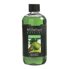 Millefiori Milano Náplň do difuzéru Millefiori Milano Natural, 500ml/Zelený fík a kosatec