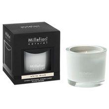 Millefiori Milano Vonná svíčka Millefiori Milano Bílé pižmo, Natural, 180 g