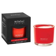 Millefiori Milano Vonná svíčka Millefiori Milano Jablko a skořice, Natural, 180 g