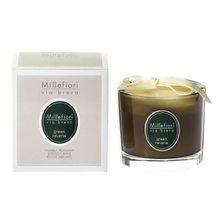 Millefiori Milano Vonná svíčka Millefiori Milano Zelené snění, Via Brera, 180 g