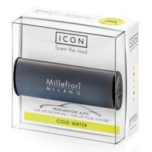 Millefiori Milano Vůně do auta Classic/Cold Water tmavě šedá