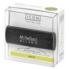 Millefiori Milano Vůně do auta Millefiori Milano Icon, Animalier/Myrta, černá