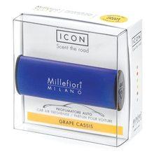 Millefiori Milano Vůně do auta Millefiori Milano Icon, Classic/Hrozny a černý rybíz, tmavě modrá