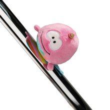 NICI Plyšová magnetka Nici Jednorožec Rainbow Bubble, 12 cm
