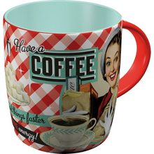 Nostalgic Art Hrnek-Have A Coffee