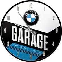 Nostalgic Art Nástěnné hodiny-BMW-GARAGE