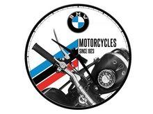 Nostalgic Art Nástěnné hodiny-BMW-Motorcycles-SINCE 1923