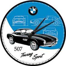 Nostalgic Art Nástěnné hodiny-BMW-Touring Sport