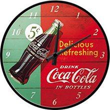 Nostalgic Art Nástěnné hodiny-Coca Cola-Delicious Refreshing