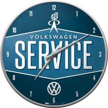 Nostalgic Art Nástěnné hodiny-Volkswagen-SERVICE