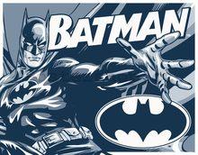 Nostalgic Art Plechová cedule - Batman (Černobílý)