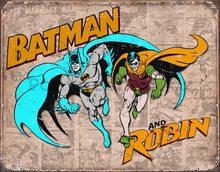 Nostalgic Art Plechová cedule - Batman & Robin