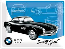 Nostalgic Art Plechová cedule – BMW 507 Touring Sport