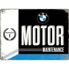 Nostalgic Art Plechová cedule - BMW Motor Maintenance