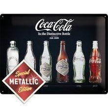 Nostalgic Art Plechová cedule - Coca Coca lahve Special Edition