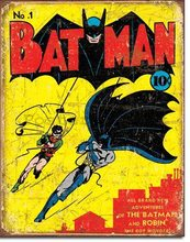 Nostalgic Art Plechová cedule - Comics Batman and Robin