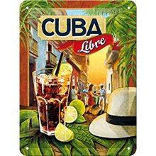 Nostalgic Art Plechová cedule - Cuba Libre