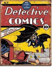 Nostalgic Art Plechová cedule - Detective Comics (Batman)